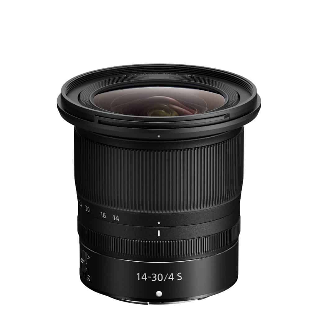 Nikkor Z 14-30mm f / 4 S - ultra wide angle lens for Nikon Z mirrorless cameras.